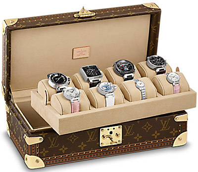 Louis Vuitton Monogram 8 Watch Case: US$7,200.