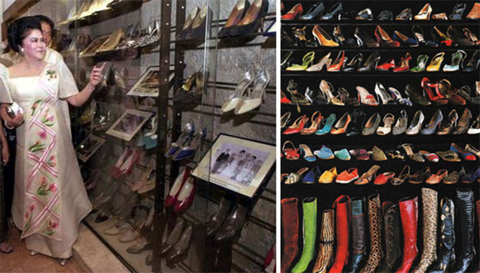 Marikina Shoe Museum, City of Marikina, island of Luzon, Philippines. Recipient of more than 800 pairs of shoes donated by former first lady Imelda Marcos.