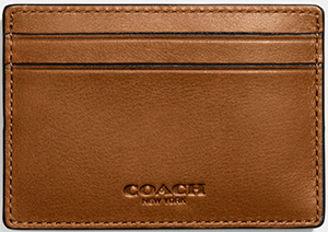 Coach mens card holder kkklinton top 100 best high end luxury business card holders cases colourmoves