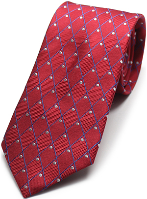 Private Stock Red Marquise Diamond Necktie: US$85.
