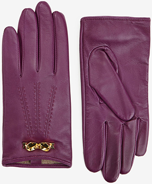Ted Baker Bowra Women's Bow Trim Leather Gloves: £85.
