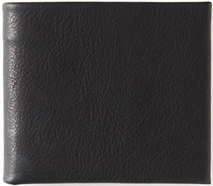 Todd Snyder Black Leather Bi-Fold Wallet: US$88.