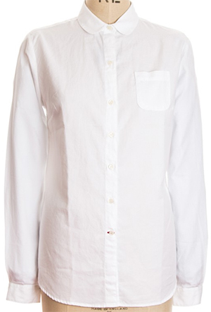 Oliver Spencer Eton Collar Women's Shirt Astley White SWS23: £89.