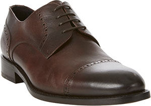 Isaia Perforated Cap-Toe Bluchers Men's Shoe: US$895.