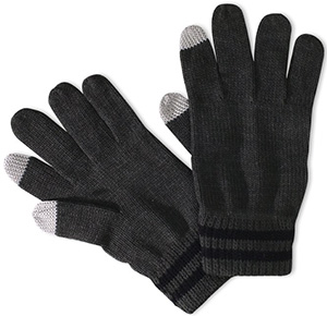 Geoffrey Beene Men's Knit Texting Glove: US$8.99.