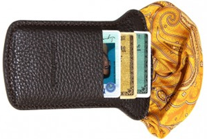 Edward Armah Brown Carte Poche Wallet: US$95.