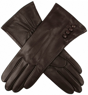 Dents Natalie Women's Silk Lined Hairsheep Leather Touchscreen Gloves: £92.
