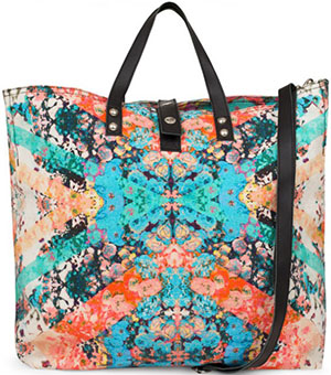 Lily and Lionel Las Dalias Floral Canvas Women's Tote Bag: £99.