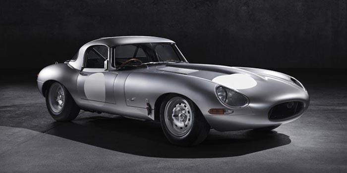 Jaguar Lightweight E-type (2014).