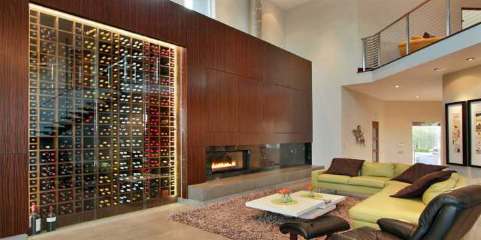 Modern wine cellar designs.