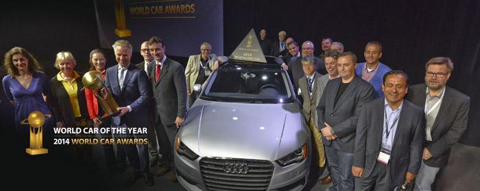 The World Car Awards (WCOTY) 2014.