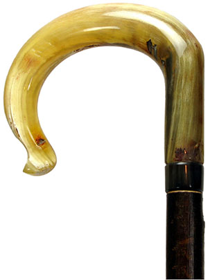 Abbeyhorn Stick - Ramshorn - Traditional Crook: £299.75.