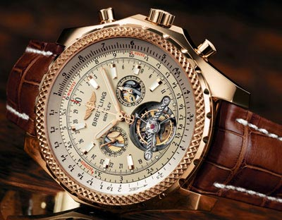 Breitling Mulliner Tourbillon for Bentley.