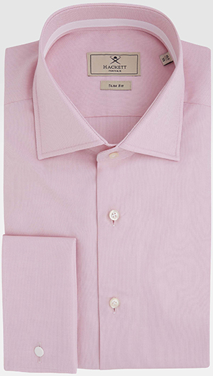 Hackett Mayfair Royal Oxford Double Cuff Shirt: £135.