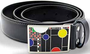 Acme Playhouse Belt Frank Lloyd Wright: US$110.
