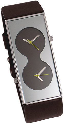 Acme Bi Brown Wrist Watch Karim_Rashid: US$130.