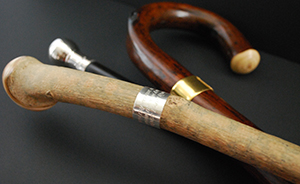 Sterling & Burke Walking Sticks, Canes & Country Sticks hand made in England.