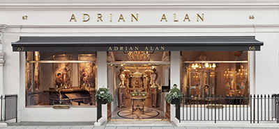 Adrian Alan Ltd., 66/67 South Audley Street, London W1K 2QX, England, U.K.
