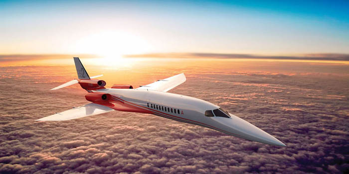 Supersonic Aerion AS2 business jet.