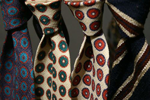 Alan Flusser neckties.