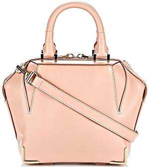 Alexander Wang Mini Emile tote with large main compartment and two tubular top handles: US$825.