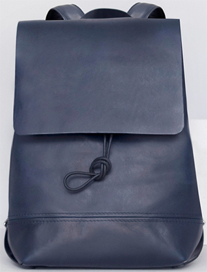 Alfie Douglas Alfie Two Basic Women's Backpack Medium Navy: £360.
