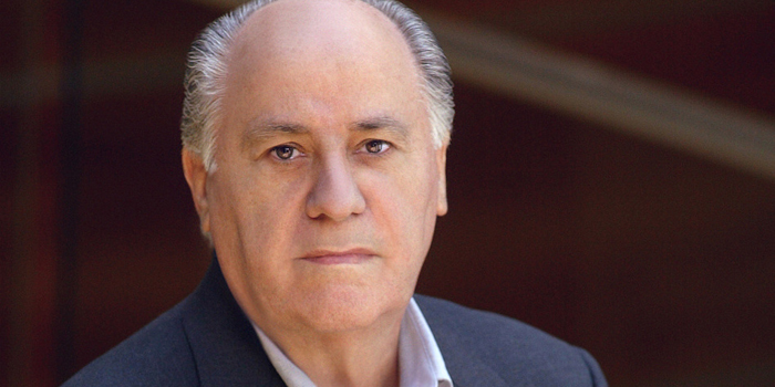 Amancio Ortega - world's third richest man: US$66.4 billion (as of December 31, 2013. Bloomberg Billionaires).