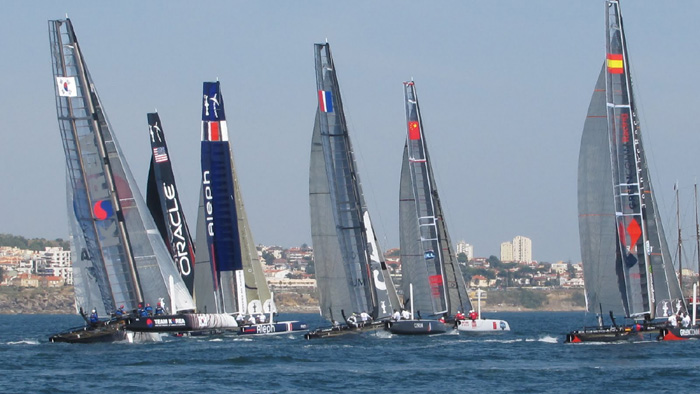 America's Cup 2011.