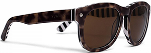 AMI + Vuarnet Men's Tortoise Shell Sunglasses: €195.