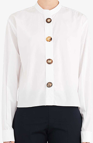J.W.Anderson oversized women's button shirt: £450.