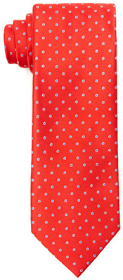 Perry Ellis Anorra Dot Silk Tie: US$22.98.