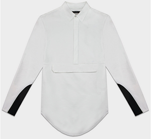 Pyer Moss Odyssey Anorak Dress Shirt: US$425.