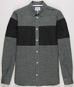 Norse Projects Anton Speckled Cotton Men's Shirt: US$240.