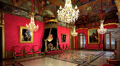 Prince's Palace: The State Apartments, The Palace, 98000 Monaco-Ville.