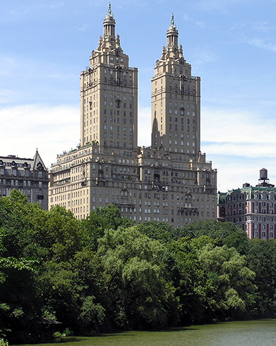 The San Remo, 145 Central Park West, New York, NY 10023, U.S.A.