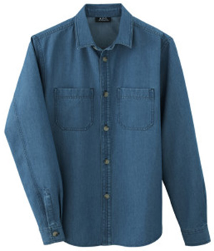A.P.C. Gary Men's Overshirt: US$220.