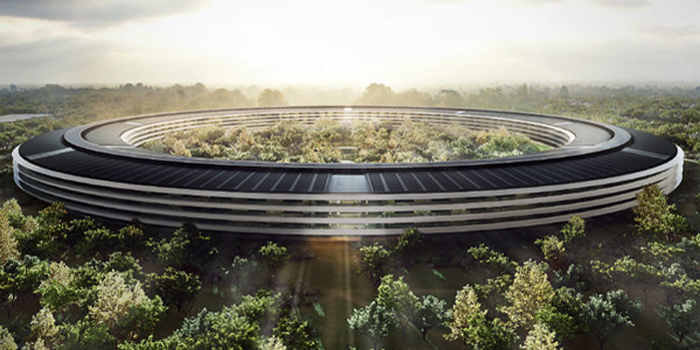 Apple Campus 2, North Tantau Avenue, Cupertino, Santa Clara Valley, CA, U.S.A.
