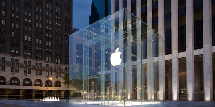 Apple's Flagship Store, 767 5th Avenue, New York City, NY 10153, U.S.A.