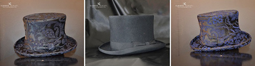 Cleofe Finati top hats.