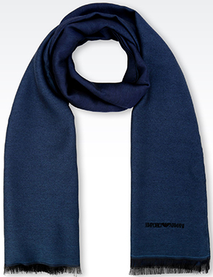 Emporio Armani Wrap in Viscose Blend: US$165.