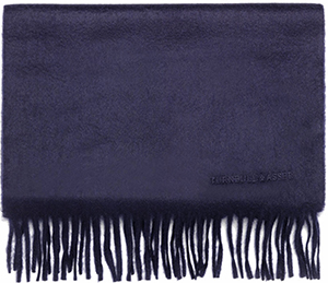 Turnbull & Asser Pure Cashmere Scarf in Navy: €325.