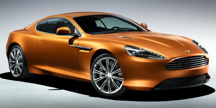 Aston Martin Virage Coupe.