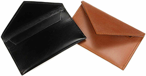 A Suitable Wardrobe Bridle Leather Business Card Cases: US$145.