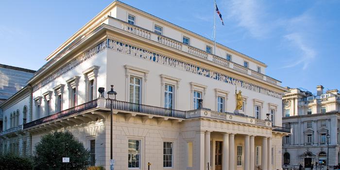 The Athenaeum Club, 107 Mall Mall, London SW1Y 5ER, England U.K. Founded in 1824.