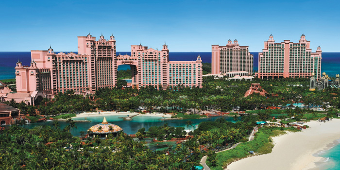 The Casino at Atlantis Resort & Casino, Paradise Island, Bahamas.