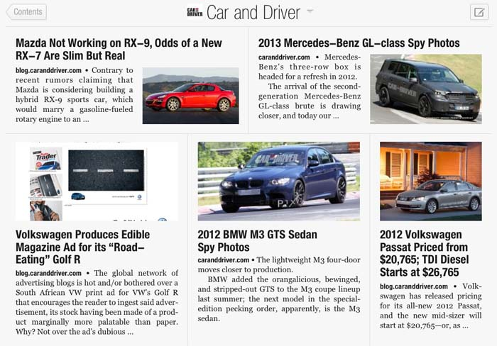 Automobile magazine article.