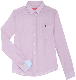 Vicomte A. Pink Thin-Striped women's shirt: €138.