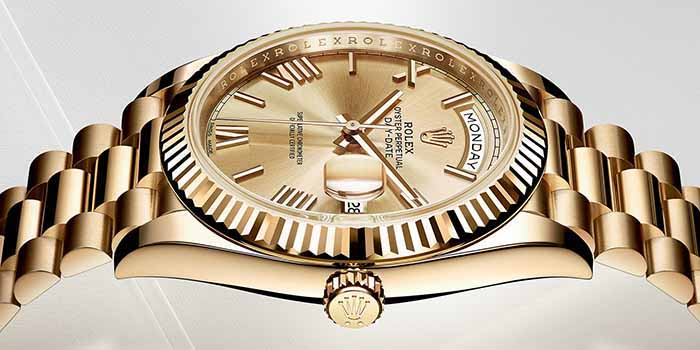 Rolex Oyster Perpetual Day-Day 40 - 'The Presidents' Watch' since 1956.