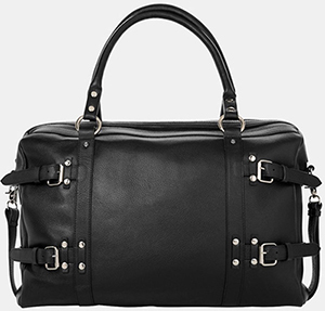 The Kooples Leather Weekend Bag: £425.