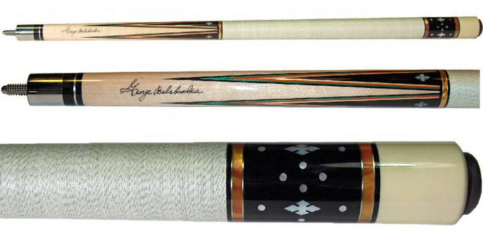 George Balabushka pool cues.